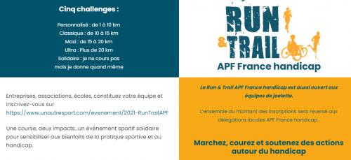 run&trail, apf, gironde, sport, défi, solidaire,