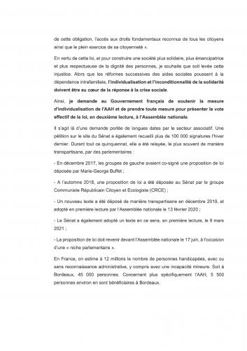 APF, Gironde, handicap, aah, manifestation, bordeaux, 16 septembre 2021, dignité