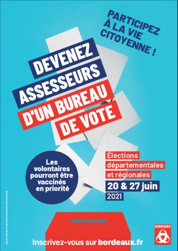 Assesseur, élection, 2021, bordeaux, handicap, démocratie, citoyen